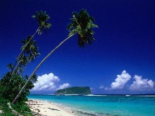 Lalomanu Beach, Island of Upolu, Samoa